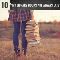 My Library Books are Always Late | Episode 10 of the English Teacher Melanie Podcast