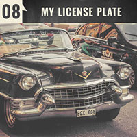 My License Plate | Episode 8 of the English Teacher Melanie Podcast
